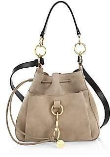 See by Chloe Women's Mini Tony Suede Bucket Bag