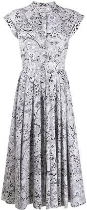 Alexander McQueen Patterned Shirt Dress