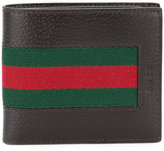 Gucci Web billfold wallet - men - Leather - One Size