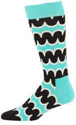 Happy Socks Men's Squiggly-Print Crew Socks