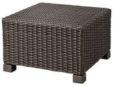 Threshold Belvedere Wicker Patio Ottoman