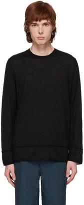 Comme des Garcons Black Inside Out Sweater