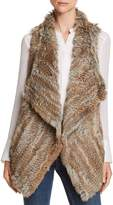 C by Bloomingdale's Rabbit Fur & Cashmere Vest - 100% Exclusive