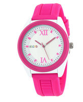 Crayo Unisex Pink Strap Watch-Cracr3602