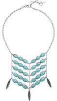 Lucky Brand Turquoise Bib Necklace