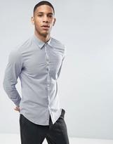 Benetton Gingham Shirt In Slim Fit