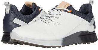 Ecco S-Three GORE-TEX(r) (White) Men's Golf Shoes
