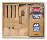 Melissa & Doug Architectural Standard Unit Blocks