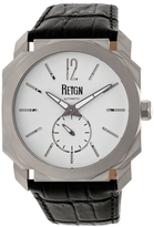 Reign Maximus Automatic Leather Watch, 44mm