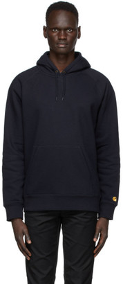 Carhartt Work In Progress Navy Chase Hoodie