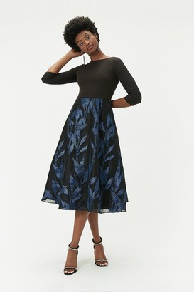 Coast Jacquard Midi Dress