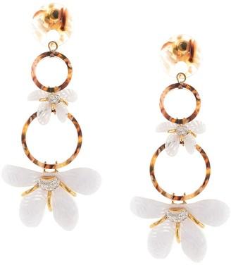Lele Sadoughi Trumpet earrings