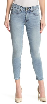 Fidelity Belvedere Mid Rise Ankle Skinny Cropped Jeans