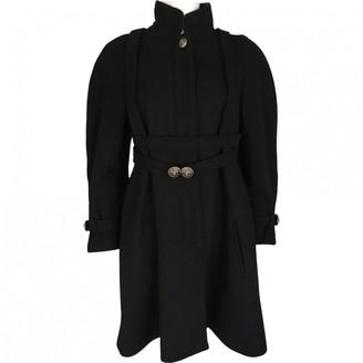 Chanel Black Wool Coat for Women