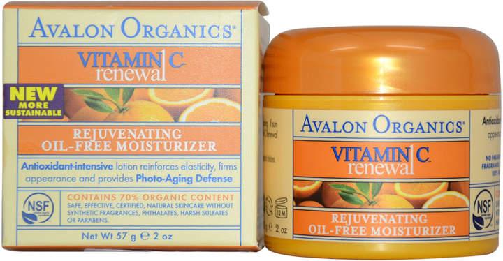 Avalon 2Oz Organics Vitamin C Rejuvenating Oil-Free Moisturizer