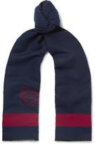 Loewe Wool and Silk-Blend Scarf