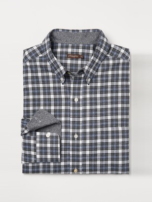 Carnegie Classic Fit Flannel Shirt in Tattersall Check