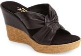Onex 'Pretti' Wedge Sandal (Women)