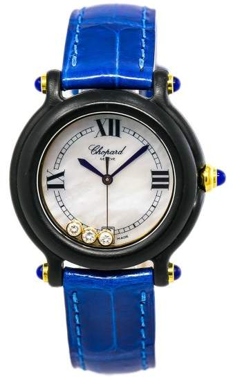 Chopard Be Happy 27/777 Plastic Quartz 32mm Womens Watch