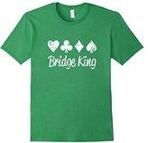 Men's Playing Card Suits Shirt, Poker Lingo Bridge King Casino 2XL