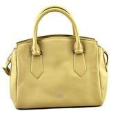 Vince Camuto Lenix Women Leather Yellow Satchel.