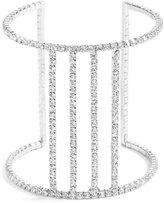 GUESS Women's Bianca Rhinestone Cuff Bracelet
