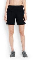 Lands' End Women's Active 5-pocket Shorts-Black