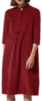 Toast Needlecord Tunic Dress, Boysenberry