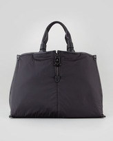 Moncler Amelie Nylon Tote Bag, Black