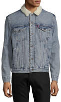 Levi'S Type III Sherpa Trucker Jacket BLUE