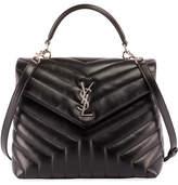 Saint Laurent Monogram Loulou Quilted Shoulder Bag