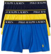 Polo Ralph Lauren Men's Cotton Stretch 3 Pack Trunks