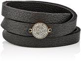 Feathered Soul Women's Unbreakable Disc & Leather Wrap Bracelet