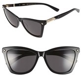 MCM Women's 57Mm Retro Sunglasses - Black