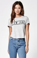 La Hearts Slow Jams Rolled Short Sleeve Skimmer T-Shirt