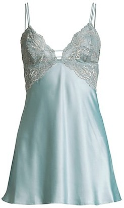 In Bloom Lace Satin Chemise