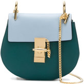 Chloé contrast Faye satchel - women - Calf Leather/Calf Suede - One Size