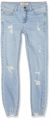 New Look 915 Girl's Blake Extreme Rip Jeans
