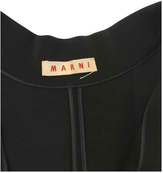 Marni Black Wool Coats