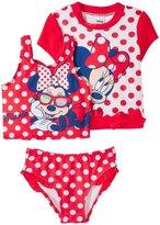 Disney Minnie Swim Set (Toddler/Kid) - Red - 4T