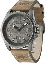 Timberland Walden Men's Gents Analog Quartz Watch with Date and Brown Leather Strap - TBL 14531JSU/13
