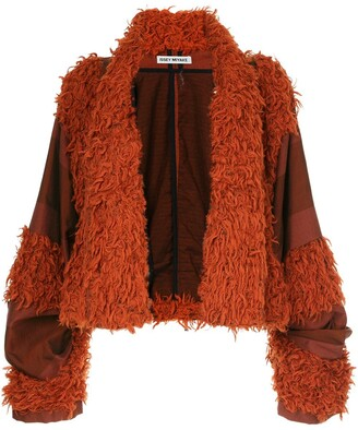 Issey Miyake Pre Owned Tonal Striped Jacket