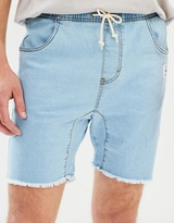 Rusty Baller Denim Elastic Shorts
