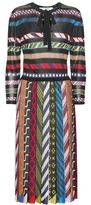 Mary Katrantzou Faye pleated dress