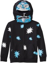 Volcom Boys' Glow in the Dark Full Zip Hoodie Sweater (2T6yrs) - 8135531