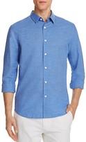 Theory Rammy Rotuma Cotton Linen Slim Fit Button-Down Shirt