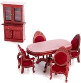 Melissa & Doug Victorian Dining Room Dollhouse Pieces
