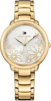 Tommy Hilfiger Women's Gold-Tone Bracelet Watch 36mm 1781781, a Macy's Exclusive Style