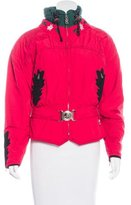 Bogner Embroidered Belted Jacket