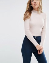 Asos Body in Rib Knit with High Neck